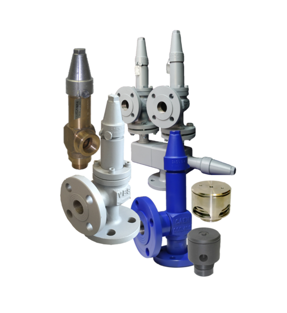 CAEN SAFETY VALVES CAN BE USED TO REPLACE HERL, AWP, DANFOSS, HEROSE...