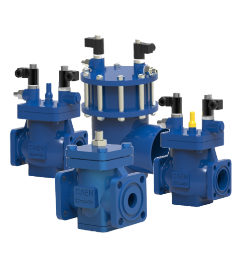 GAS POWERED VALVES