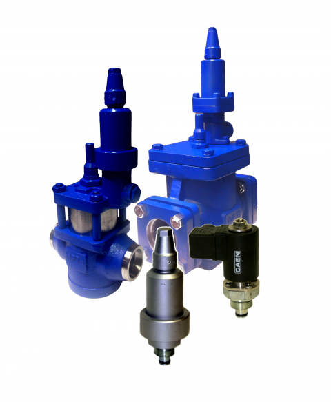 PILOT OPERATED REGULATING VALVES